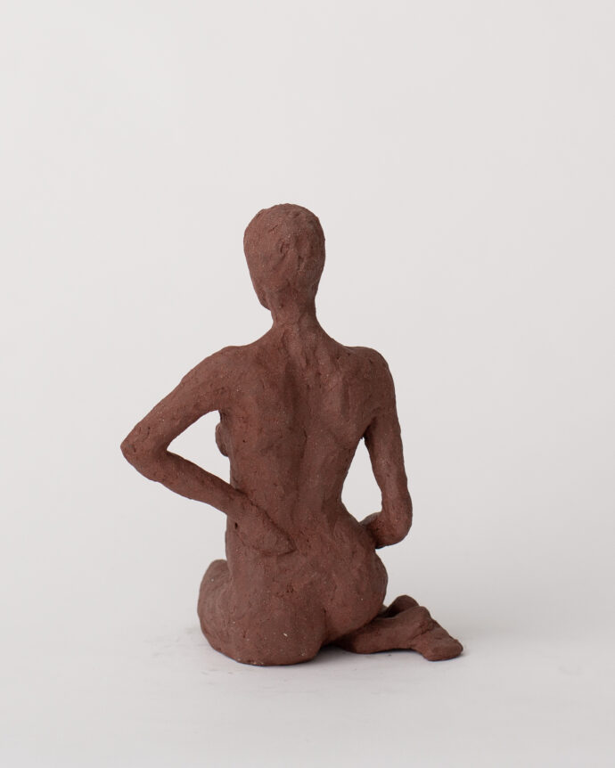 Sitting Calmly - Sculpture - Pia Hutters