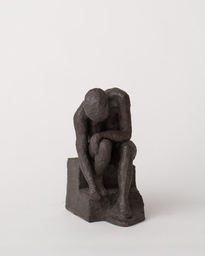 Self Nurturing - Sculpture - Pia Hutters