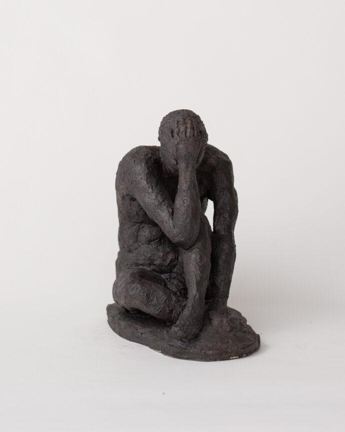 Reflecting Man - Sculpture - Pia Hutters