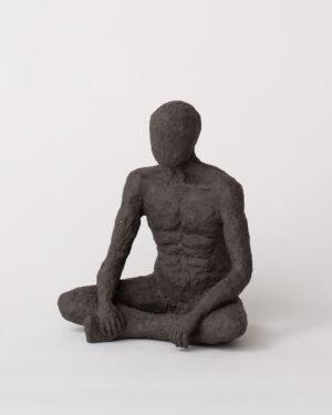 Sukhasana - Sculpture - Pia Hutters