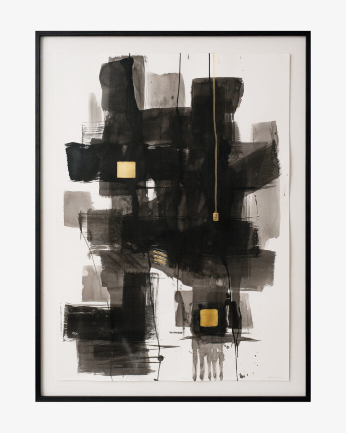 Sumi-e Abstract - Painting - Pia Hutters
